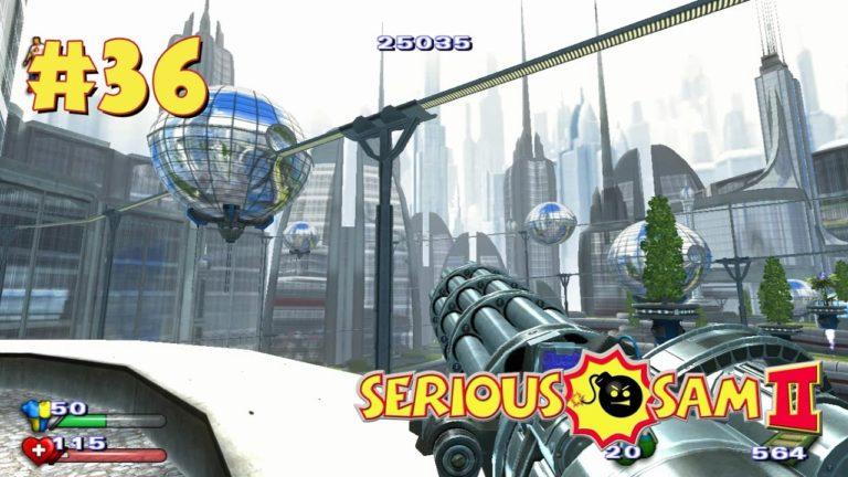 Serious Sam 2 прохождение игры — Уровень 36: Сириусополис