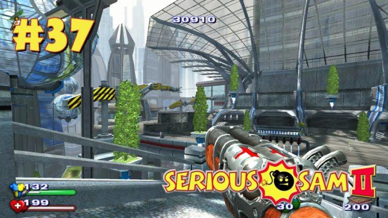 Serious Sam 2 прохождение игры — Уровень 37: Генератор Щита