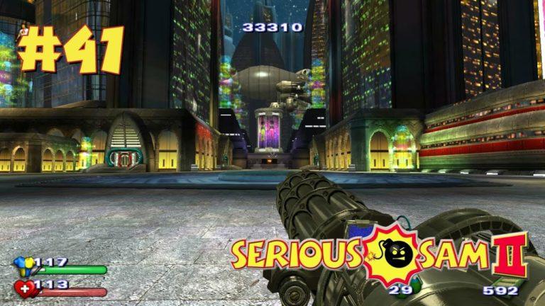 Serious Sam 2 прохождение игры — Уровень 41: Центр Сириусополиса