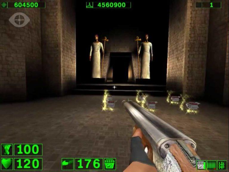 Serious Sam: The First Encounter прохождение игры — Уровень 3: Гробница Рамзеса (All Secrets Found) [00:25:27]