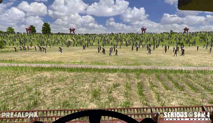 В Serious Sam 4 запустят гигантское количество монстров.Компания Croteam собирается…