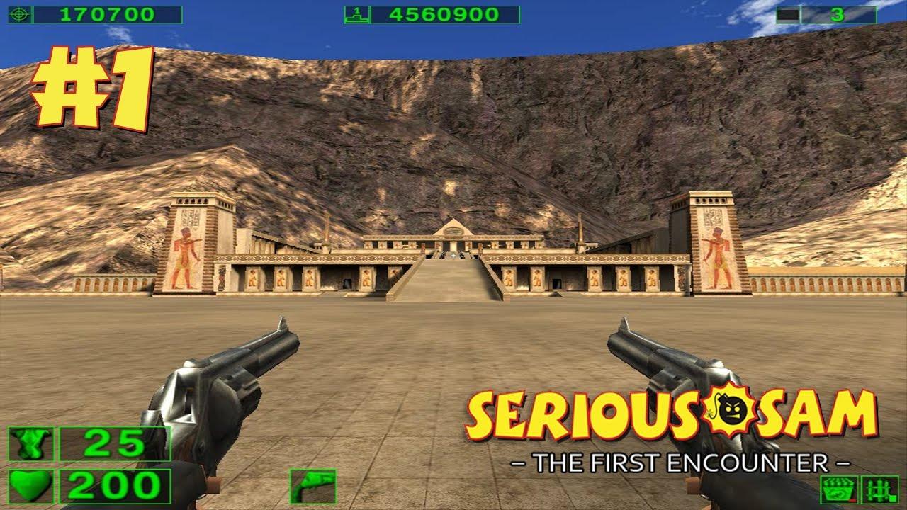 Serious Sam: The First Encounter прохождение игры — Уровень 1: Хатшепсут