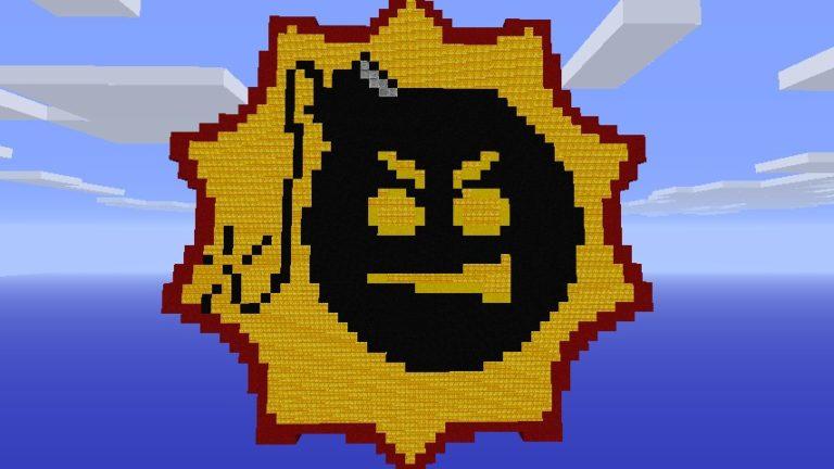 Minecraft — Serious Sam