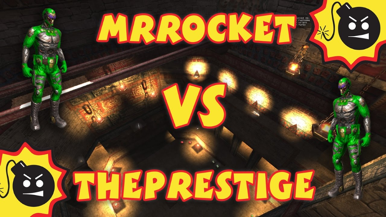 MrRocket vs ThePrestige Serious Sam HD