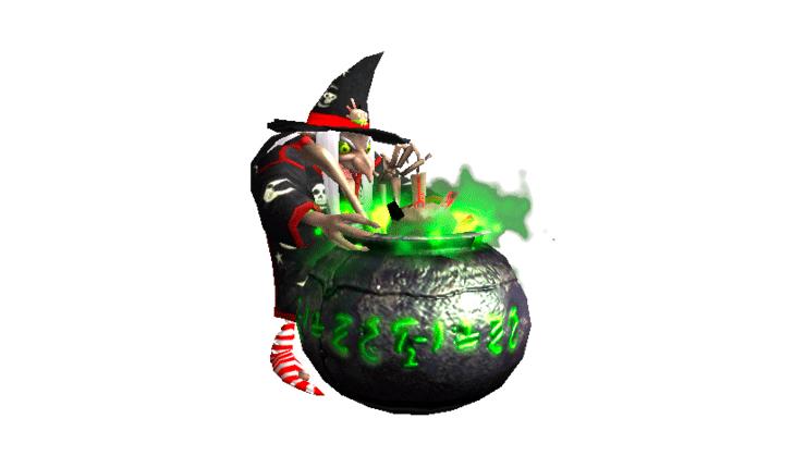 наземная ведьма serious sam 2