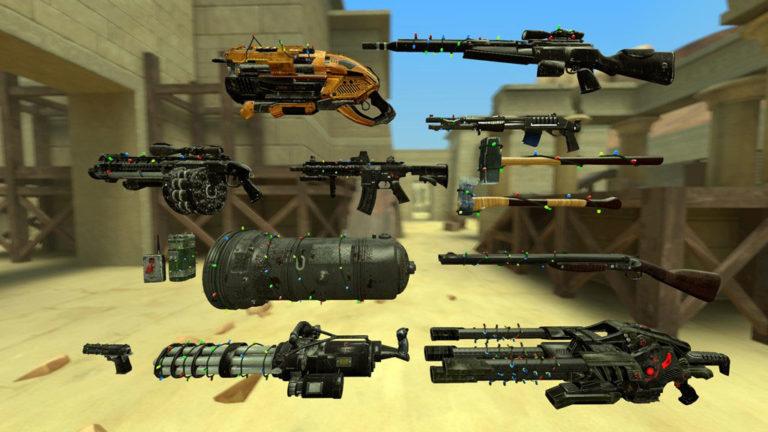 Оружие в Serious Sam