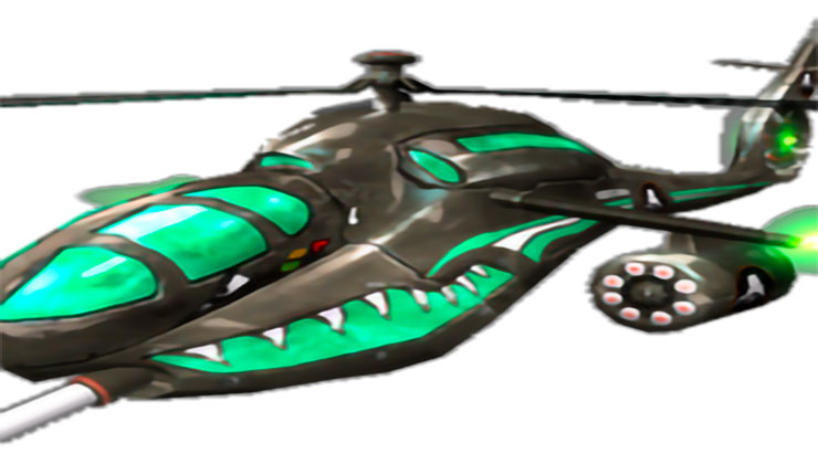 Пехотный вертолёт Козак aHa-C64
