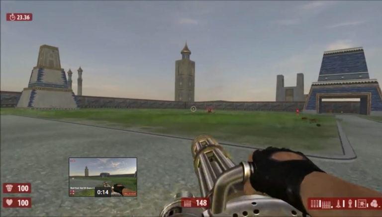 Serious Sam HD: Red Huds/Czerwony interface!