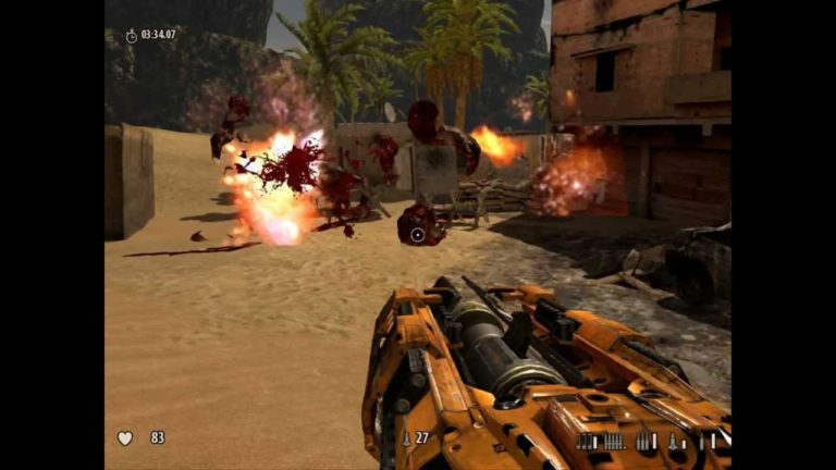 Serious Sam 3 — Custom Map «Ramesseum Village» Beta