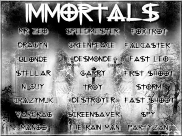• ● ~=>}Serious Sam Clan Immortals{