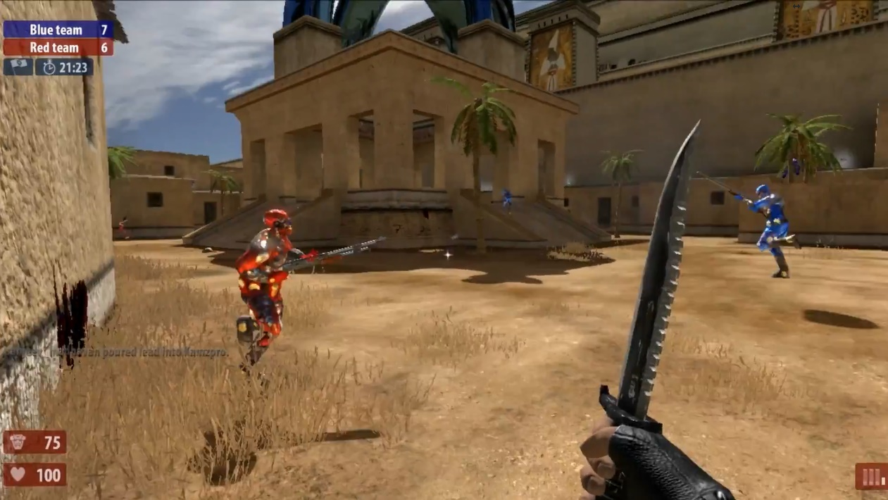 Serious Sam HD: TSE — Capture The Flag — Flagrante, Ashes To Ashes and Little Trouble