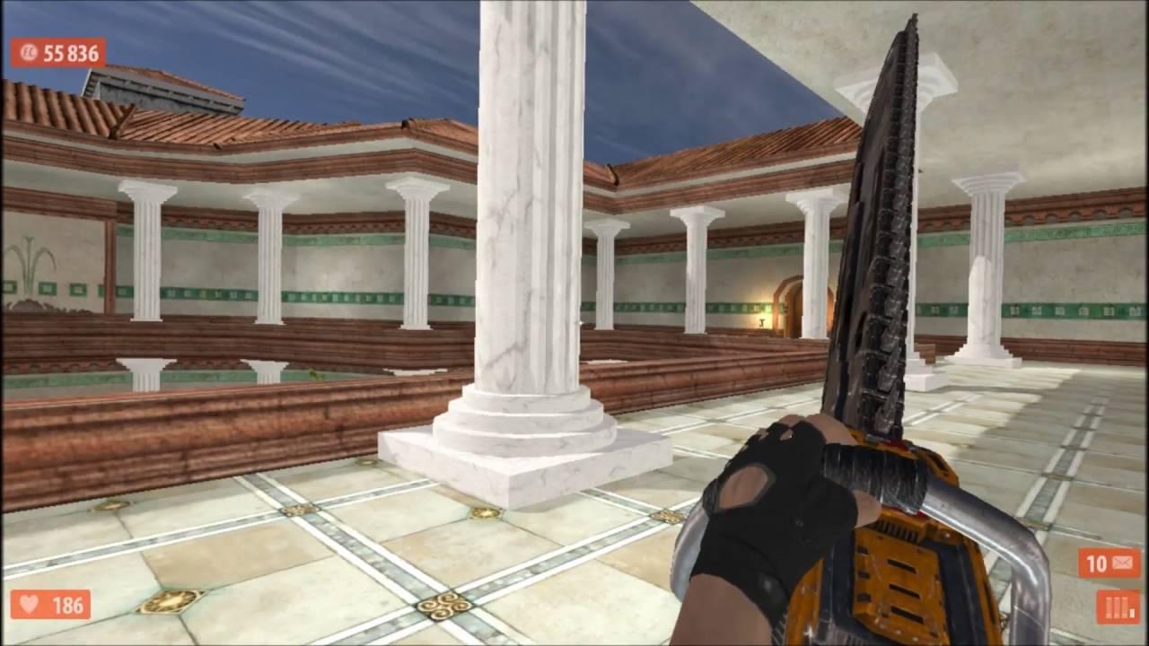Serious Sam HD Next Encounter beta Ancient Rome - Senator Cicero's villa