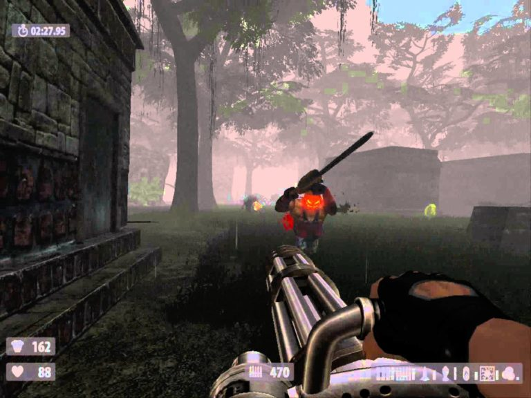 Serious Sam HD — Custom Map «The Lost Forrest» Survival map