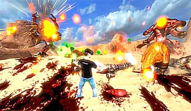 The 'Giant' update for Serious Sam VR: The First Encounter is here