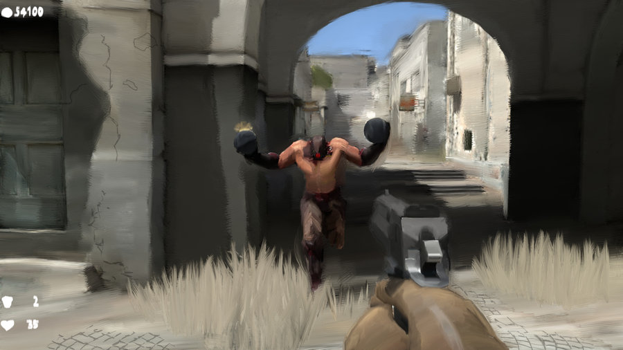 art serious sam 3
