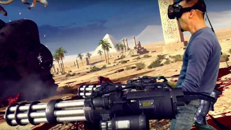 День 0 на E3: что такое Serious Sam VR и с чем его едят?