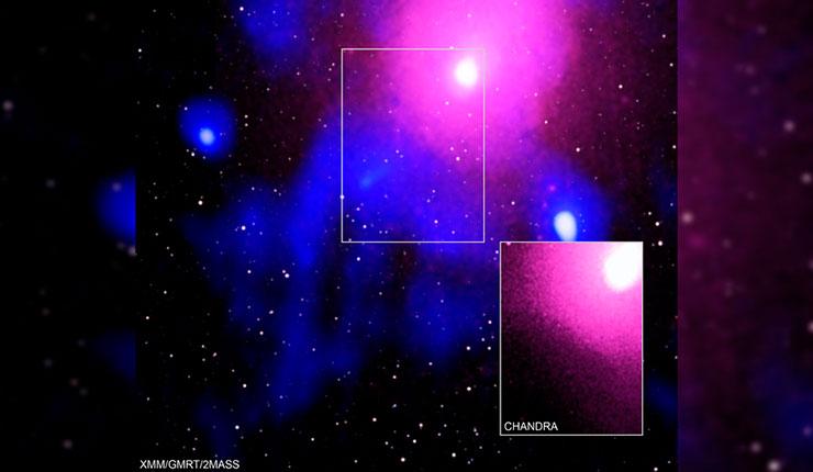 В центре нашей Вселенной произошел гигантский взрыв