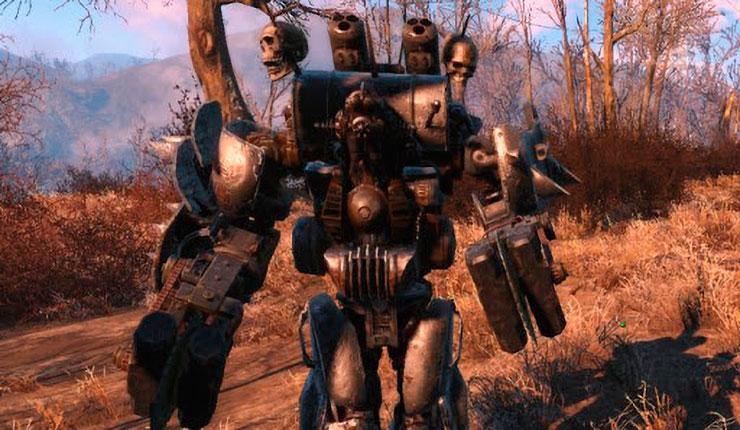 Fallout 4 - Самый имбалансный напарник | Automatron - обзор модификаций