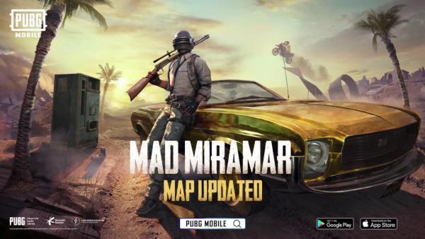 В PUBG Mobile вышел крупный апдейт и обновилась карта Мирамар