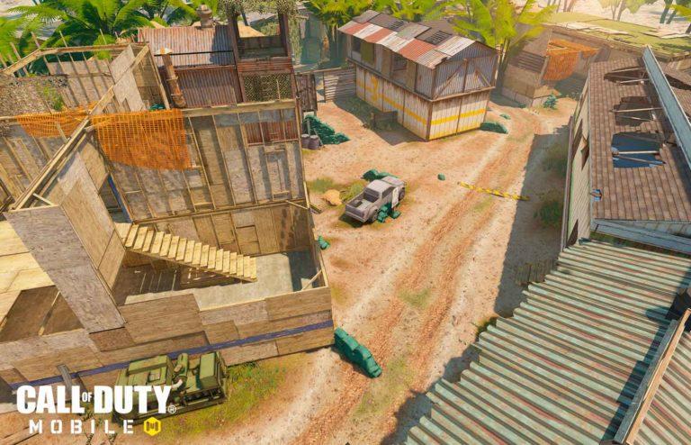 Firing Range — карта Call of Duty mobile
