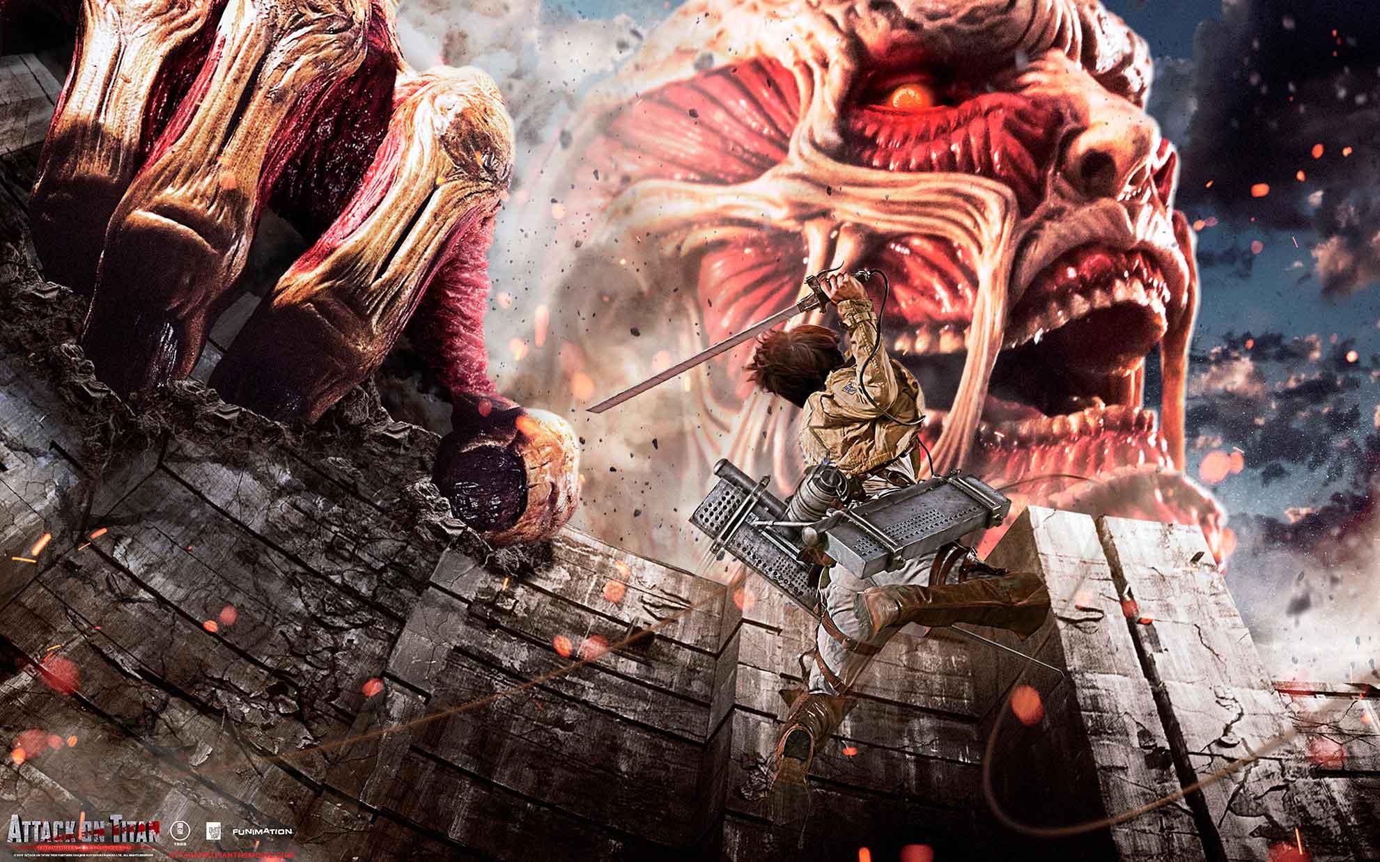 Атака титанов фильм