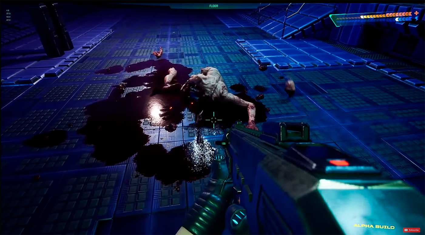 Авторы ремейка System Shock показали почти 5 минут геймплея в киберпространстве