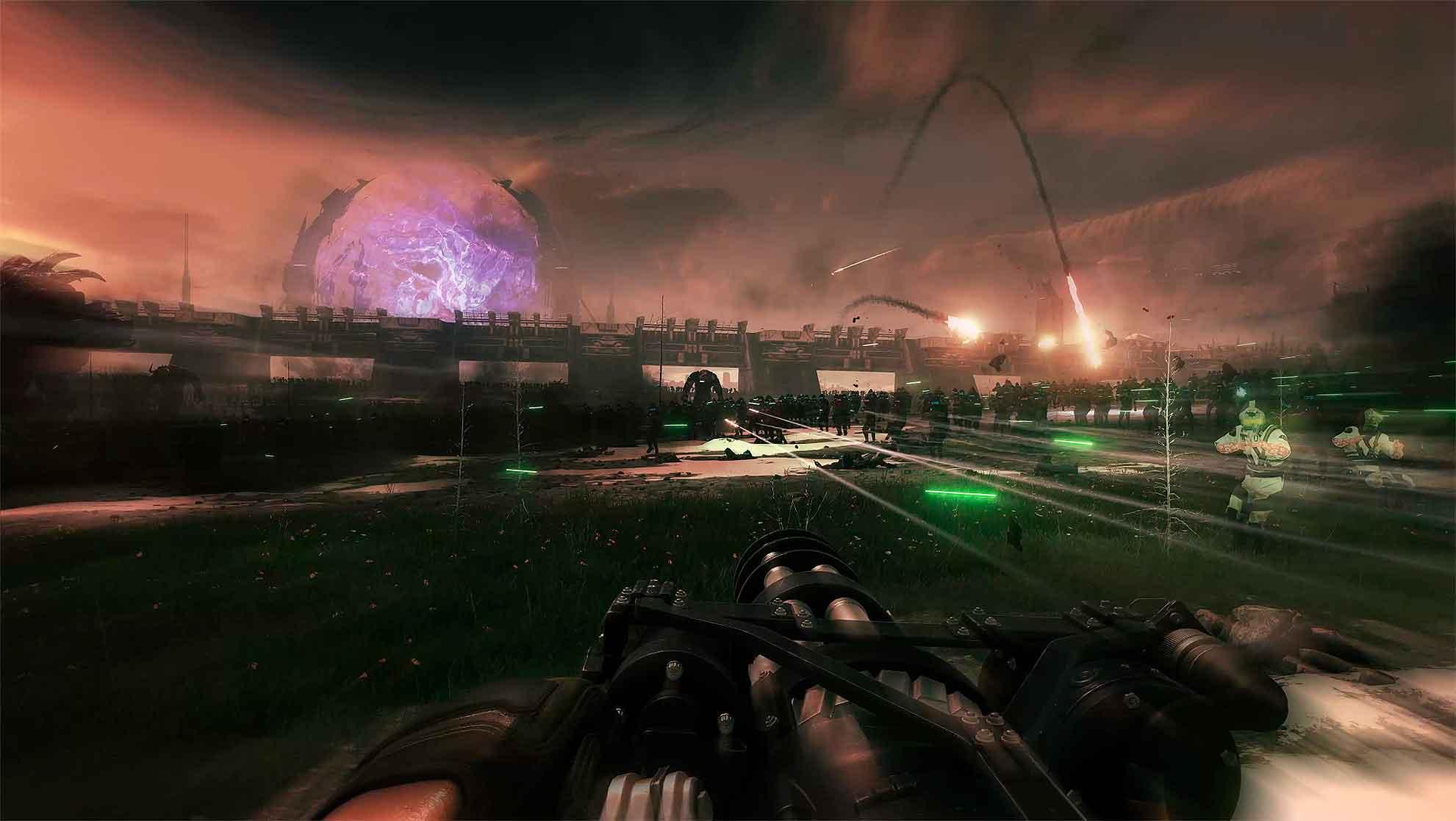 """Демонстрация """"Системы Легионов"""" из Serious Sam 4 - десятки тысяч врагов на экране"""