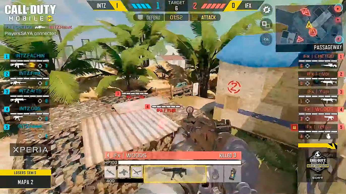 Día 2 Liguillas regionales para Latinoamérica del Campeonato mundial de Call of Duty Mobile 2020