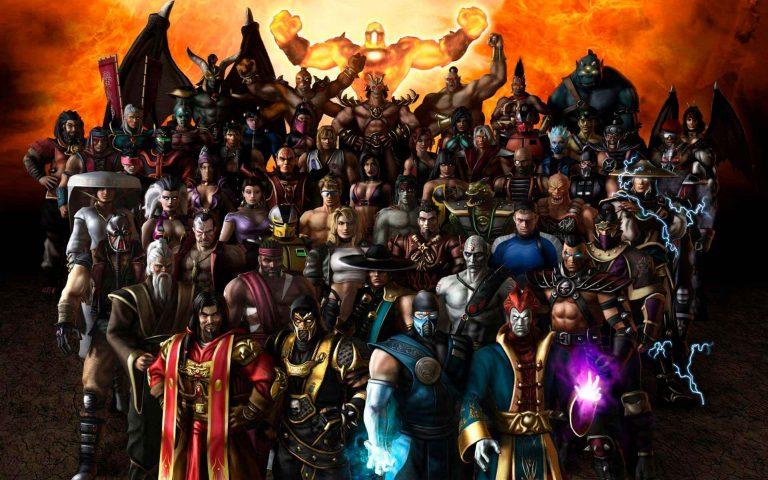 Сравнение всех бойцов из Mortal Combat