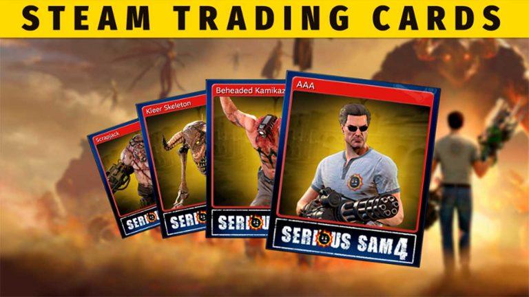 Коллекционные карточки Steam для Serious Sam 4 уже в продаже